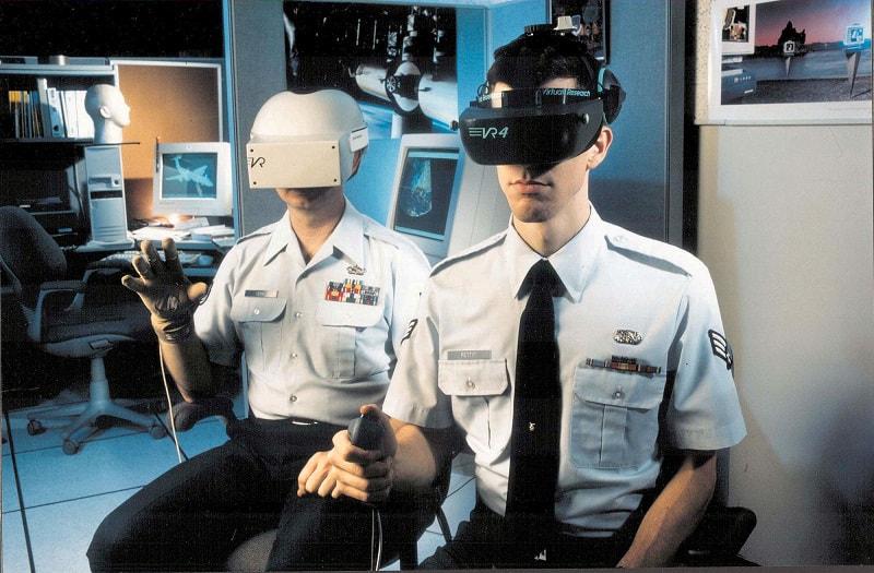 הכשרה של חיילים באמצעות טכנולוגית VR