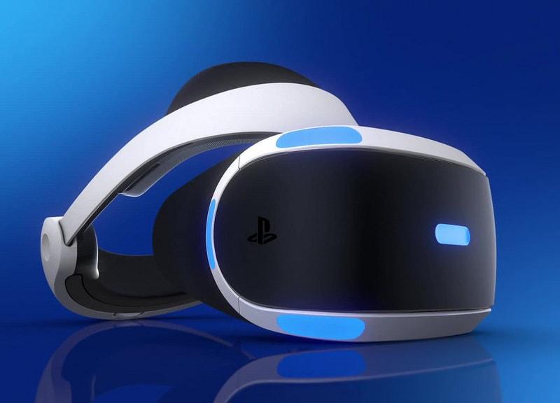 קסדת מציאות מדומה VR של PS