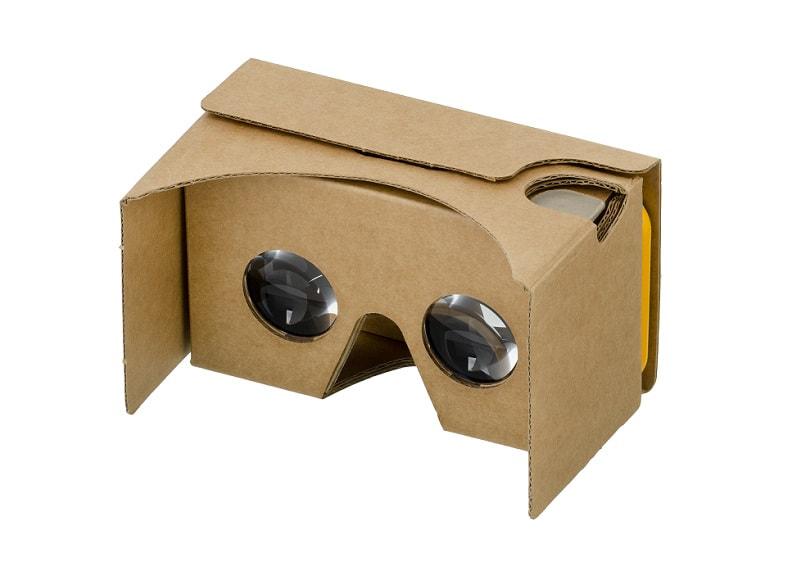 מתאם VR של Google Cardboard לסלולר