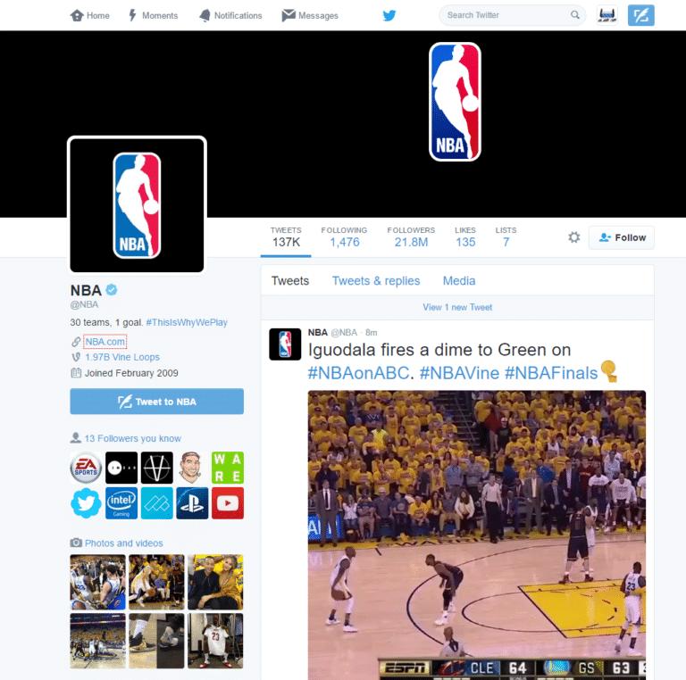 סרטוני מציאות מדומה 360 של טוויטר עם ה NBA