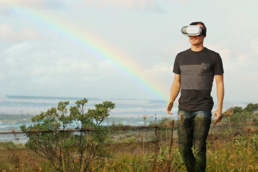 מתקן מציאות מדומה - מתאם ראש לסלולר