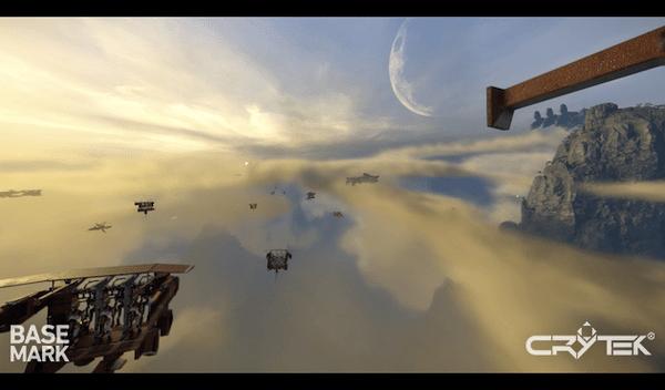 טריילר ראשון למשחק מציאות מדומה - Crytek Sky Harbor