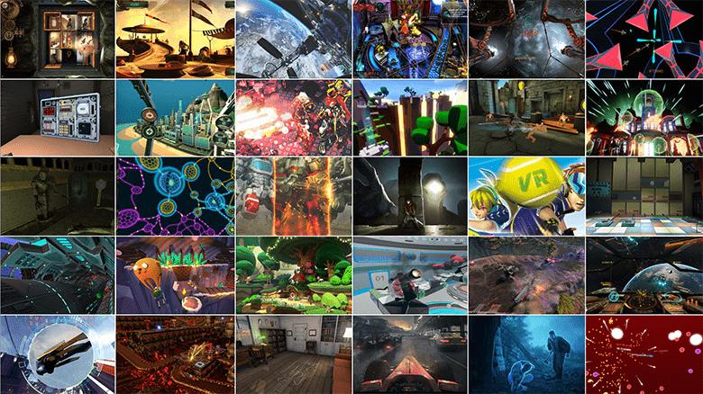 תמונות של משחקי VR שמגיעים לאוקולוס ריפט