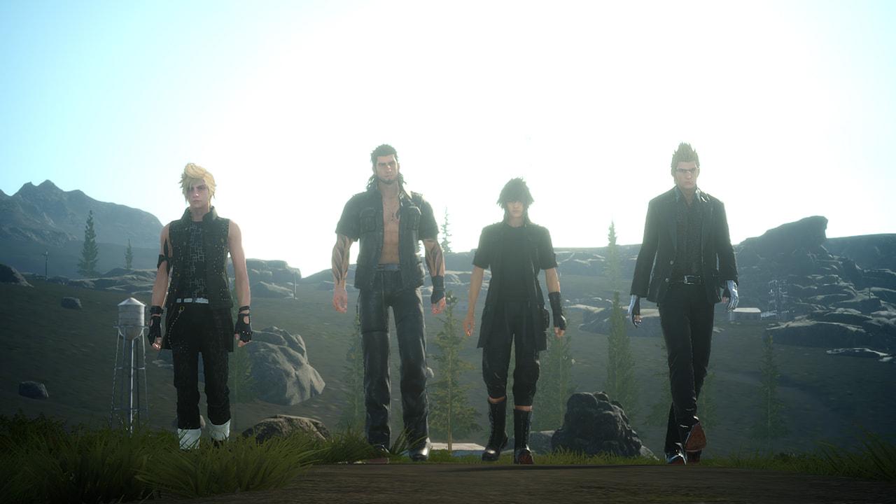 המשחק Final Fantasy XV למציאות מדומה