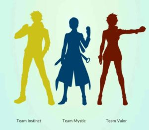 Pokemon go הצוותים - משחק מציאות רבודה