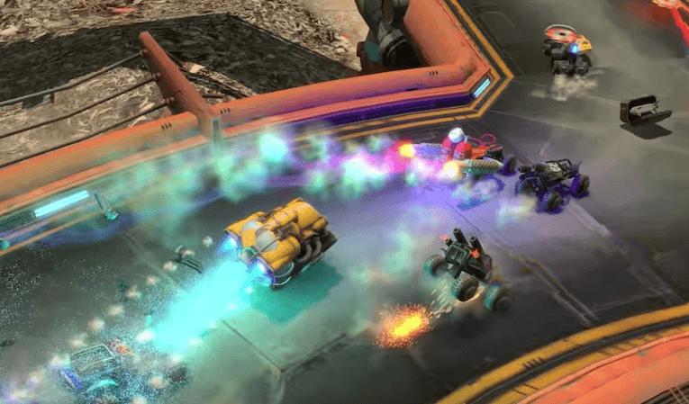 משחקי מציאות מדומה blazerush vr racing