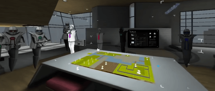 פעילות חברתית במציאות מדומה