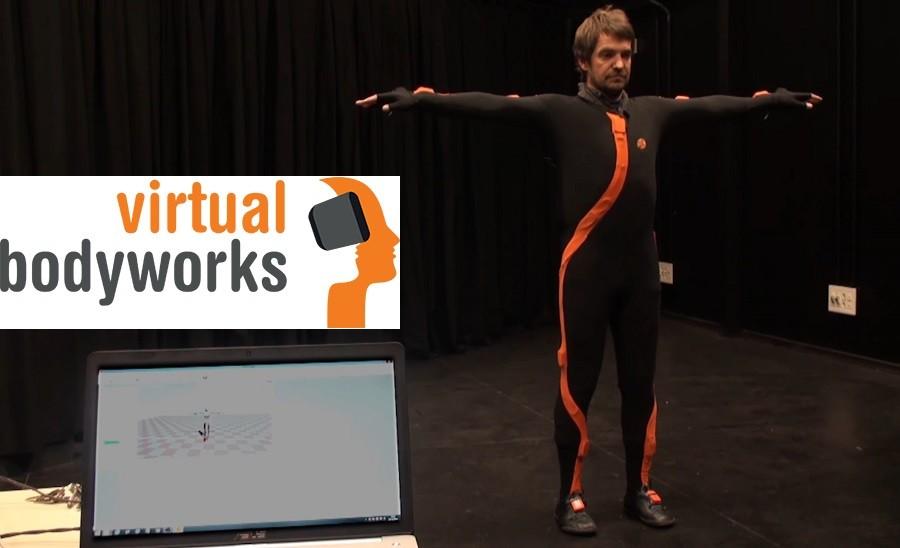 הדמייה של דמות אדם ב VR