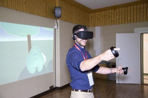 משחקי מציאות מדומה בכנס העולמי