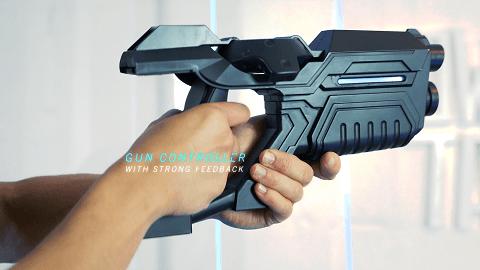 רובה המשחק של טאוור טאג - מלחמות מציאות מדומה מרובות שחקנים