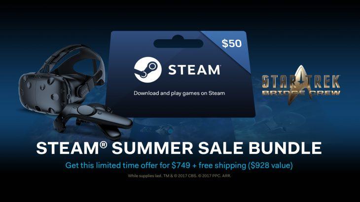 מבצעי הקיץ של STEAM - משחקי VR
