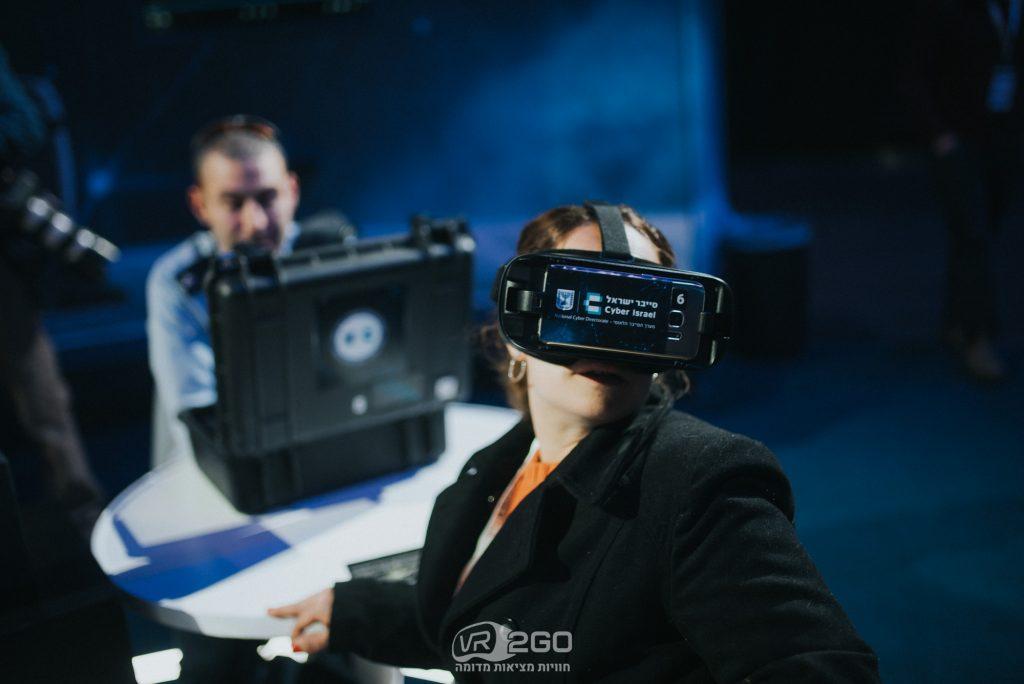 סייברטק מציאות מדומה שיווק חוויתי