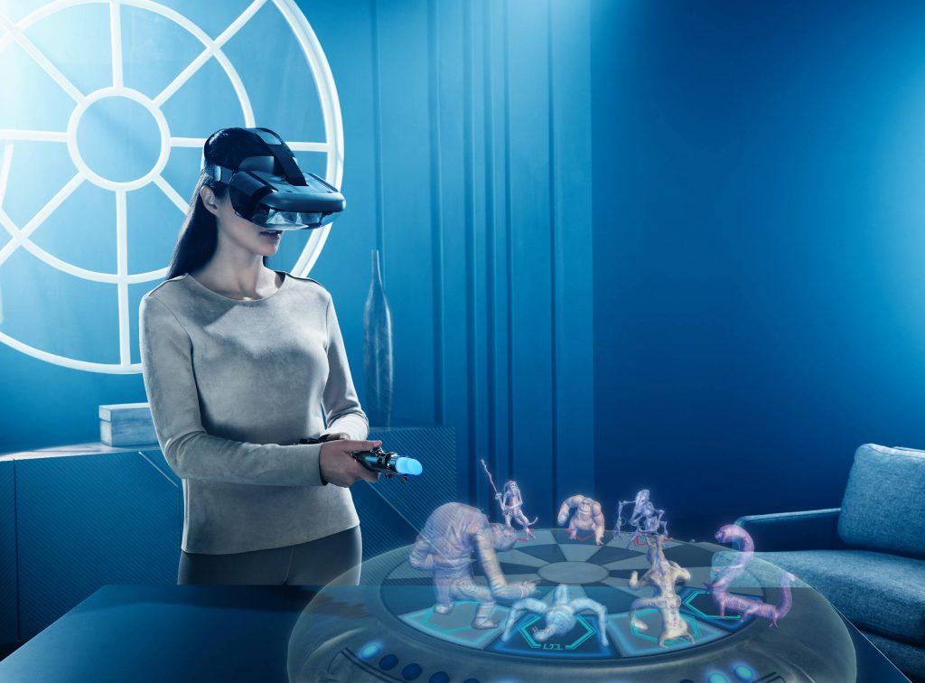 משקפי מציאות מדומה של חברת לנובו