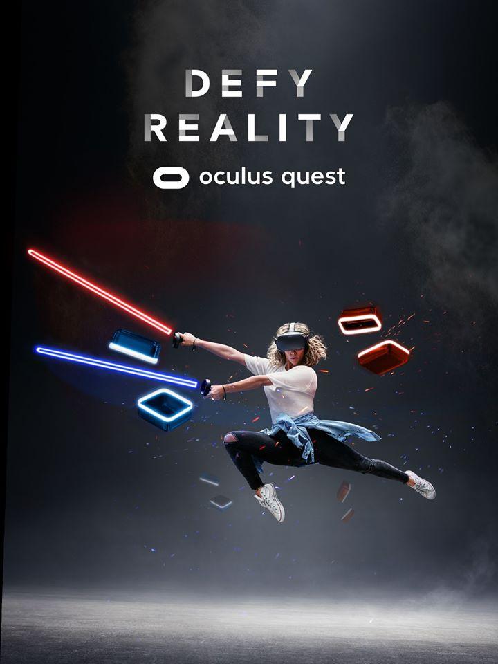 משקפי מציאות מדומה אוקולוס קווסט