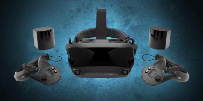 Valve Index משקפי מציאות מדומה
